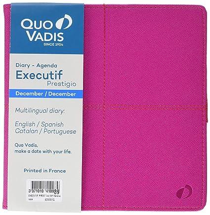 Quo Vadis Executif Prestige - Agenda 2019, diseño Verona ...