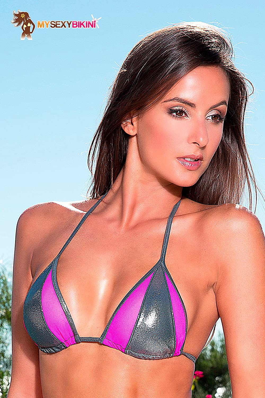 Sexy Triangel Bikini Bademode Bademode Bademode Damen Schwarz Weiß - Bounty - DREI Teilen   (Brasilien + String + top) B071H883KG Bikini-Sets Kaufen Sie online 88f644