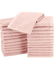 AmazonBasics Cotton Washcloths