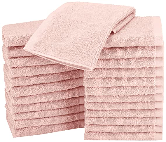 Review AmazonBasics Washcloth - Pack
