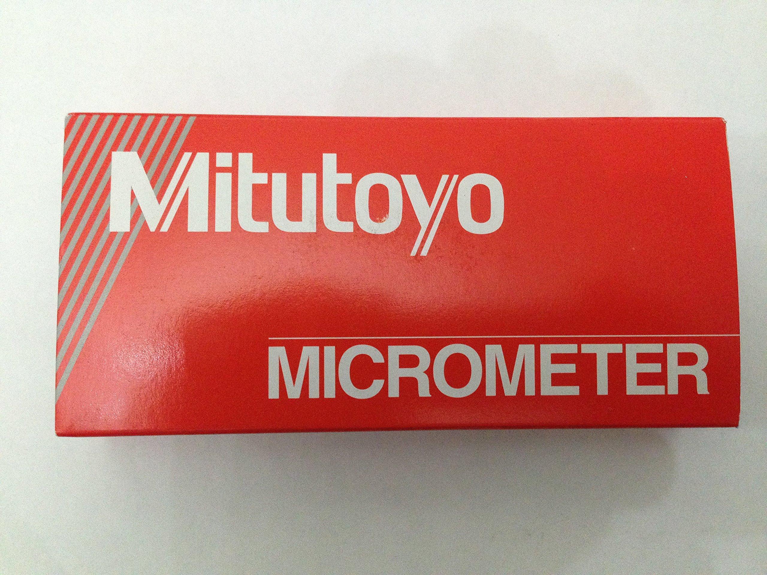 Micrometer Mitutoyo 0-25mm 0.01mm 103-137