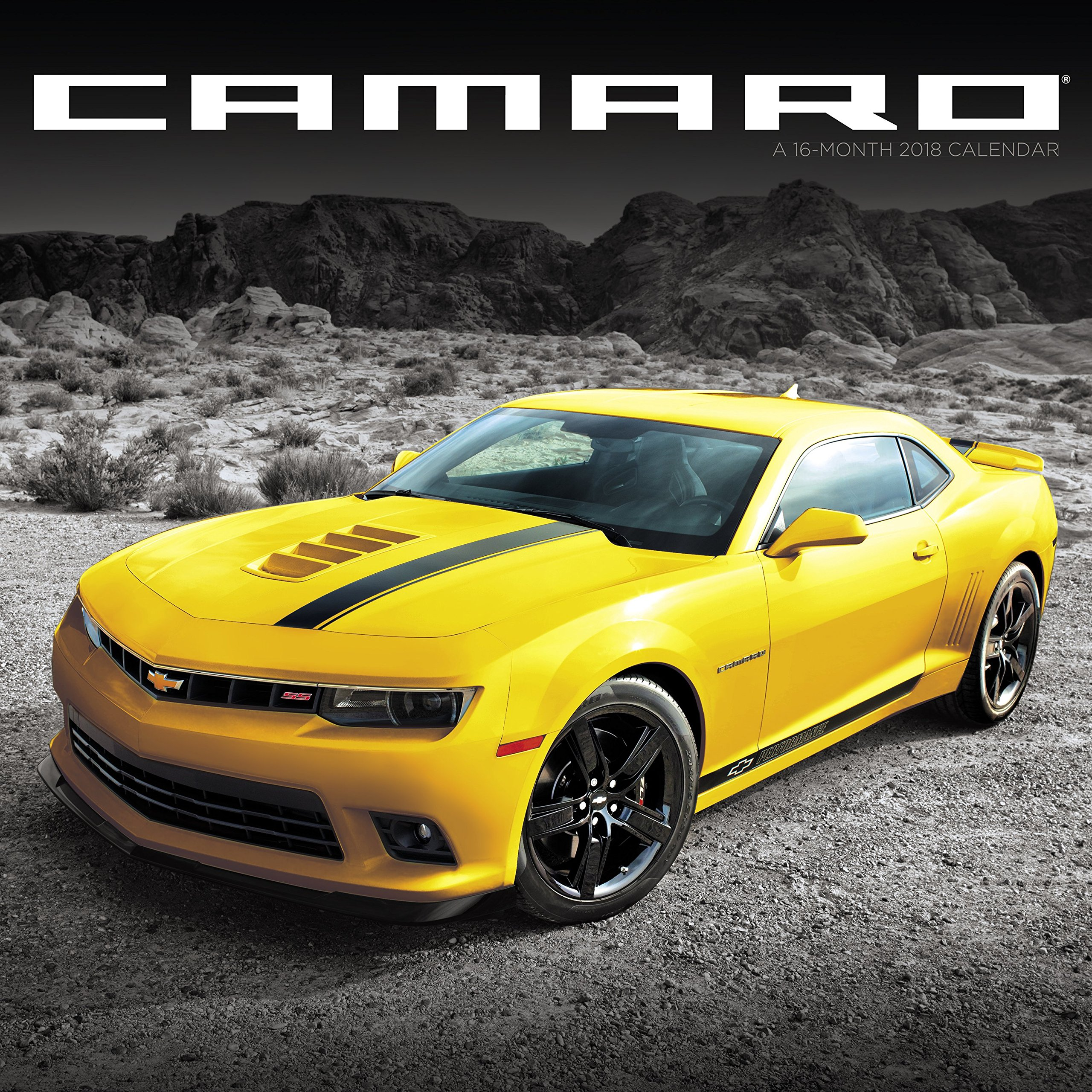 2018 camaro wall calendar mead mead 0038576615588 amazon com books