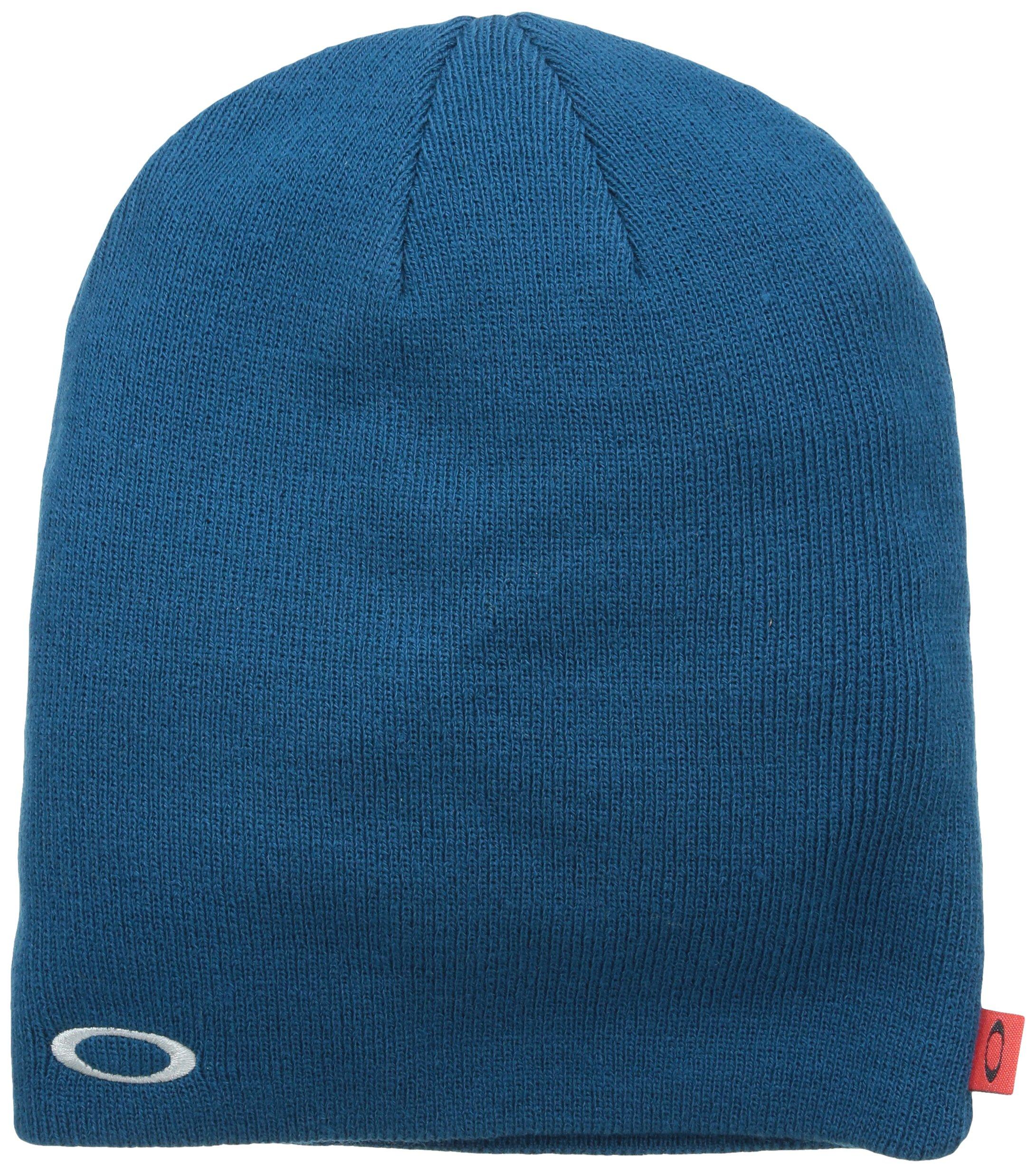 Oakley 91099A Men's Fine Knit Beanie Moroccan Blue One Size