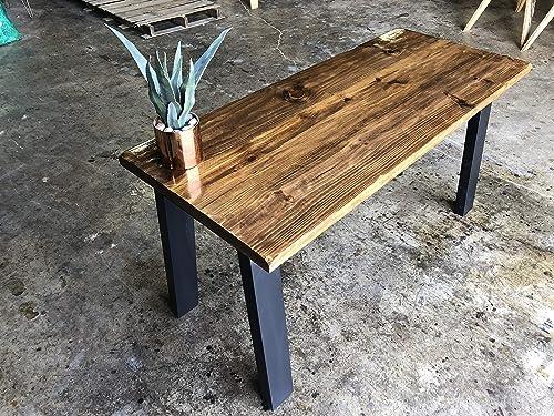 Modern Reclaimed Wood Desk