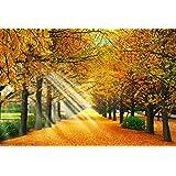450ピース ジグソーパズル パズルの達人 金色の銀杏並木-東京 スモールピース(26x38cm)