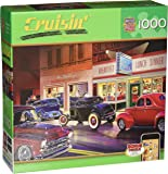 MasterPieces Cruisin' Phil's Diner Jigsaw Puzzle, 1000-Piece