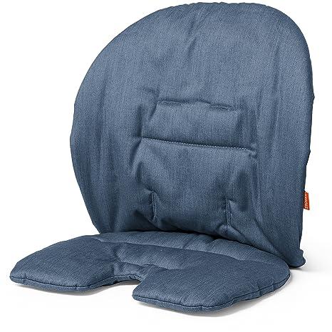 Stokke Steps Cushion Coussin De Chaise Pour Enfant Couleur Bleu
