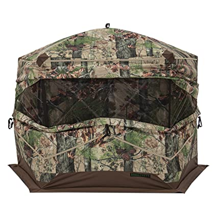 elevated to blinds pop base up hunting pin popup blind hi maximize platforms the boards d for