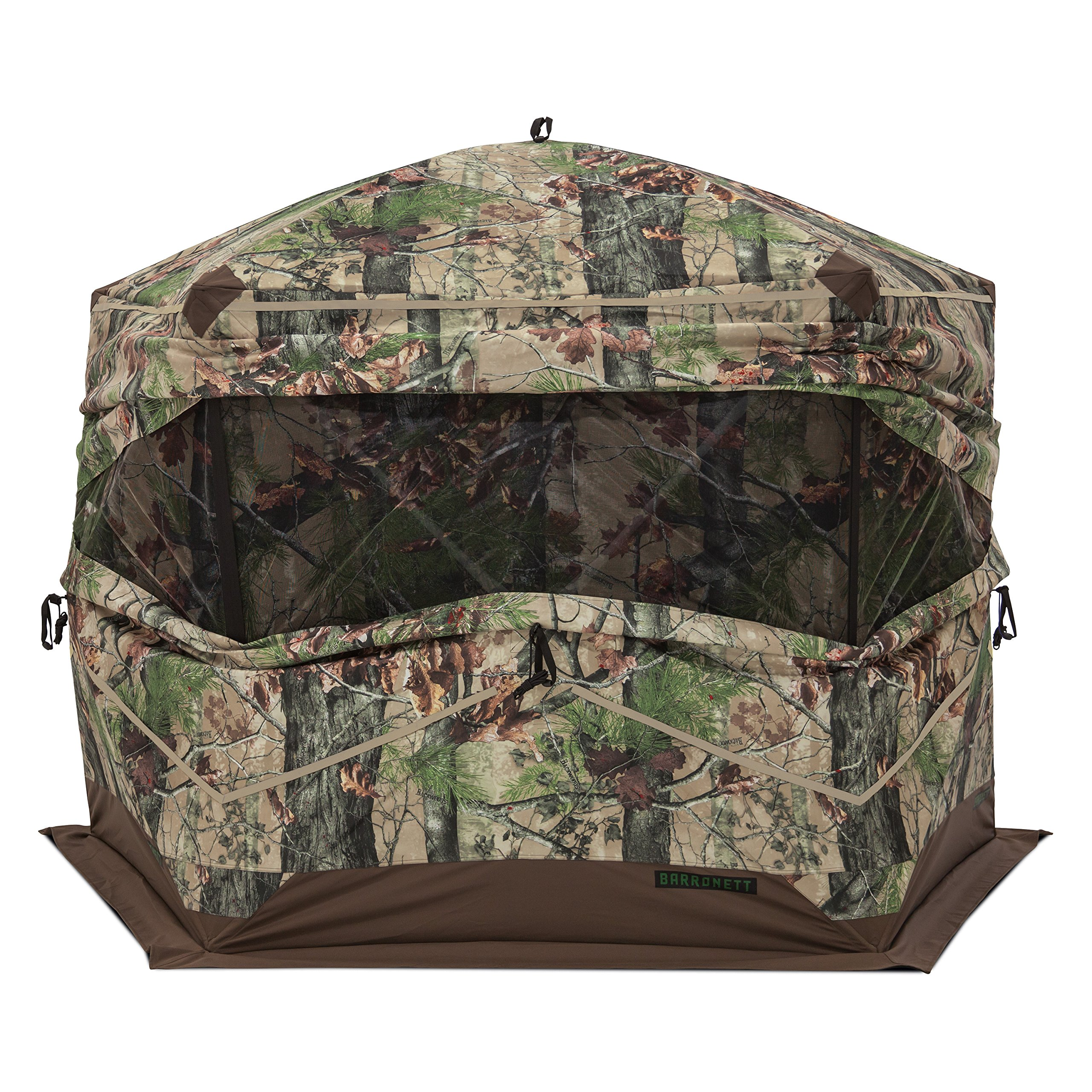 Barronett Blinds Ox 5 Ox 5-Sided Hunting Blind, Backwoods Camo