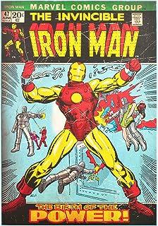Marvel Comics Retro Poster The Infinity Gauntlet (24