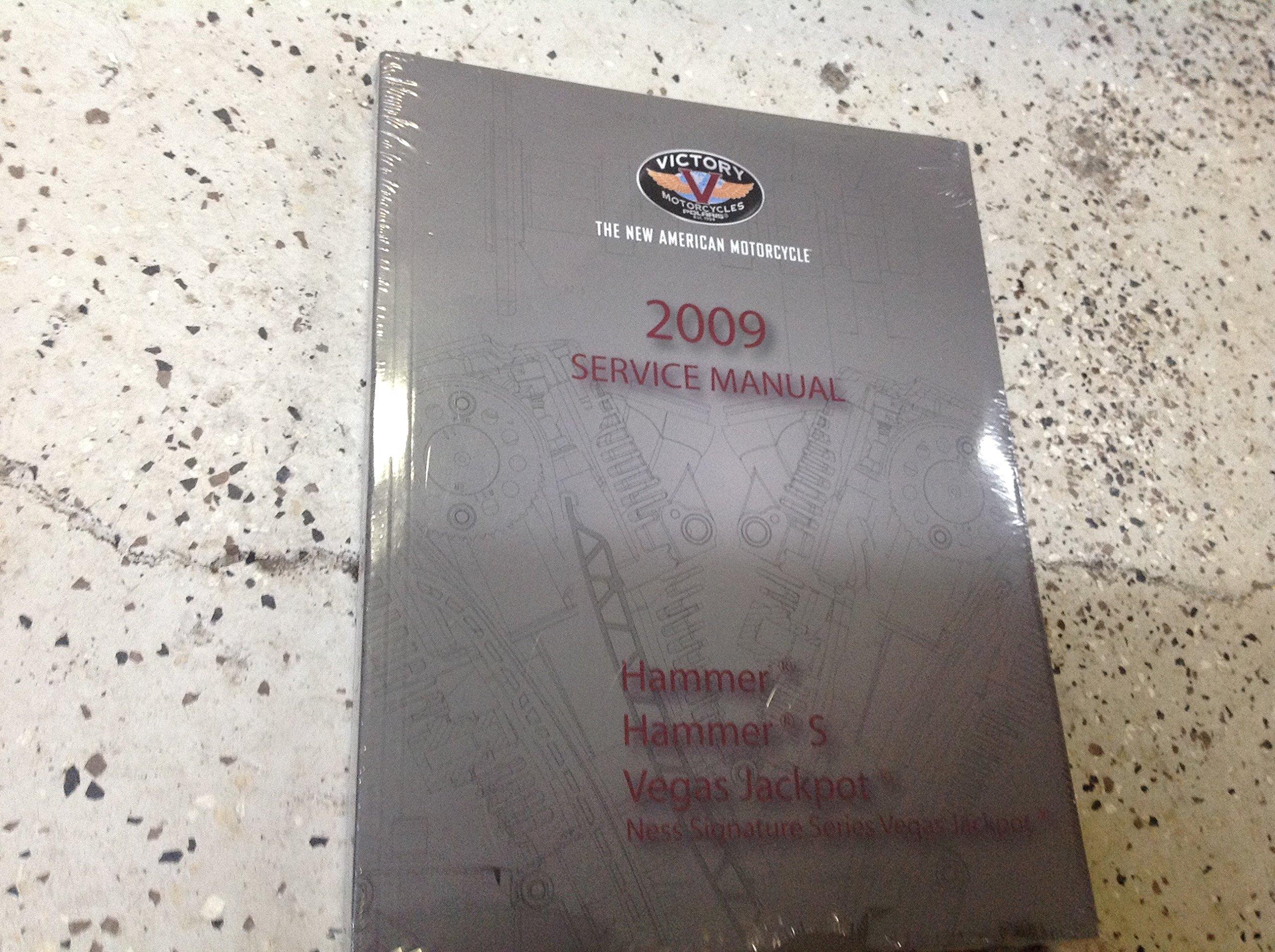 2009 Victory Hammer Hammer S Vegas Jackpot Ness Service Shop Repair Manual  OEM: Polaris: Amazon.com: Books