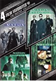 4 Film Favorites: The Matrix Collection (The Matrix / The Matrix Reloaded / Matrix Revolutions / Animatrix)