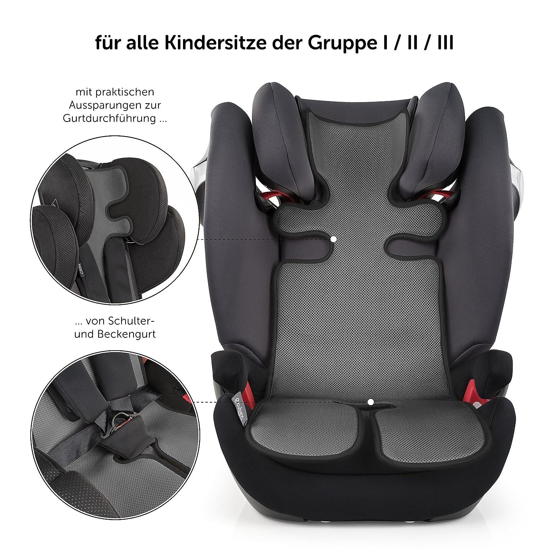 Colchoneta 3D Transpirable para Silla de Paseo / Asiento de verano Universal para cochecitos y sillas de coche - reduce la sudoración y mantiene al ...