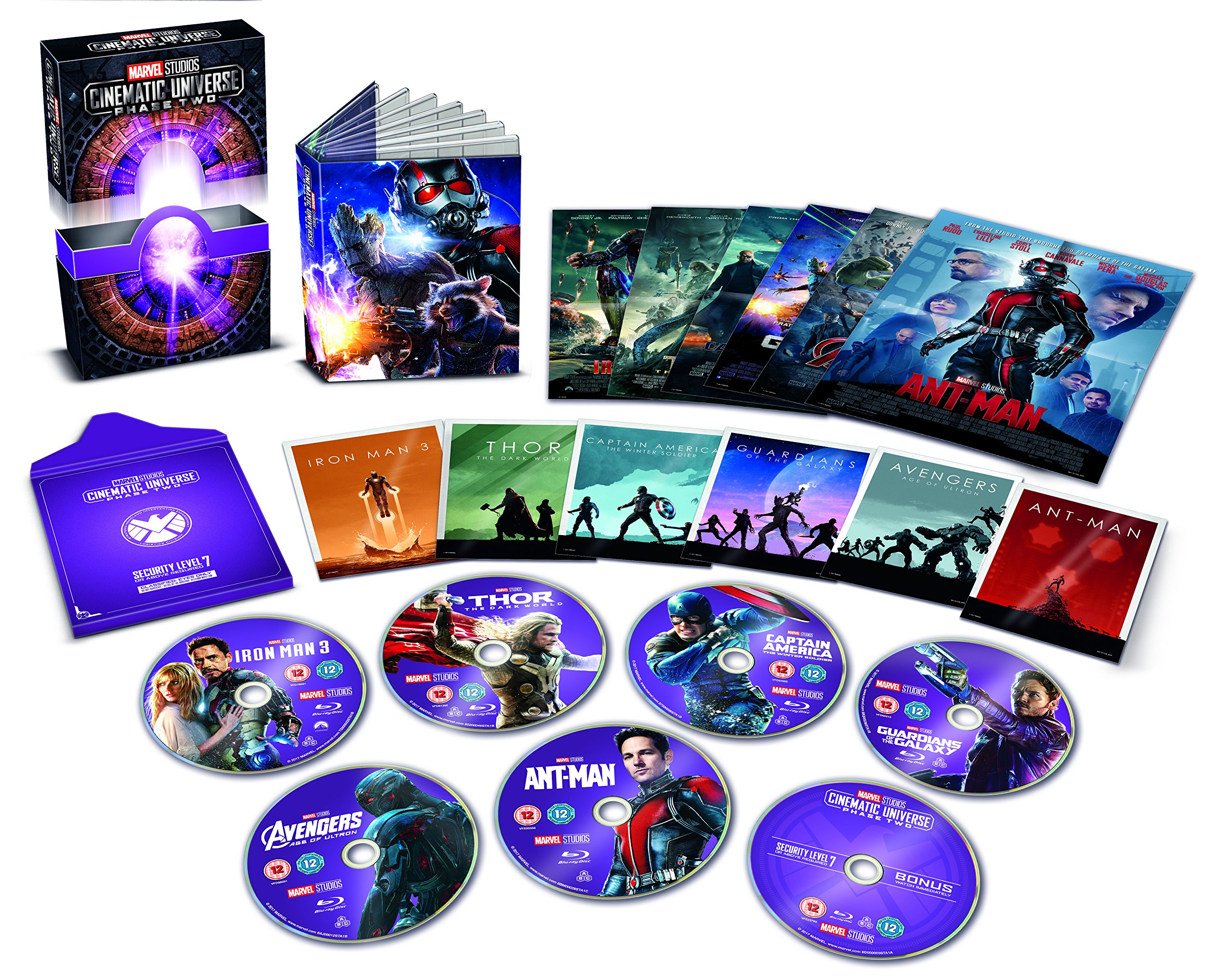 Marvel Cinematic Universe Phase 2 [Collector's Edition] [Blu-ray] [Region Free] [UK Import] by Walt Disney Studios HE