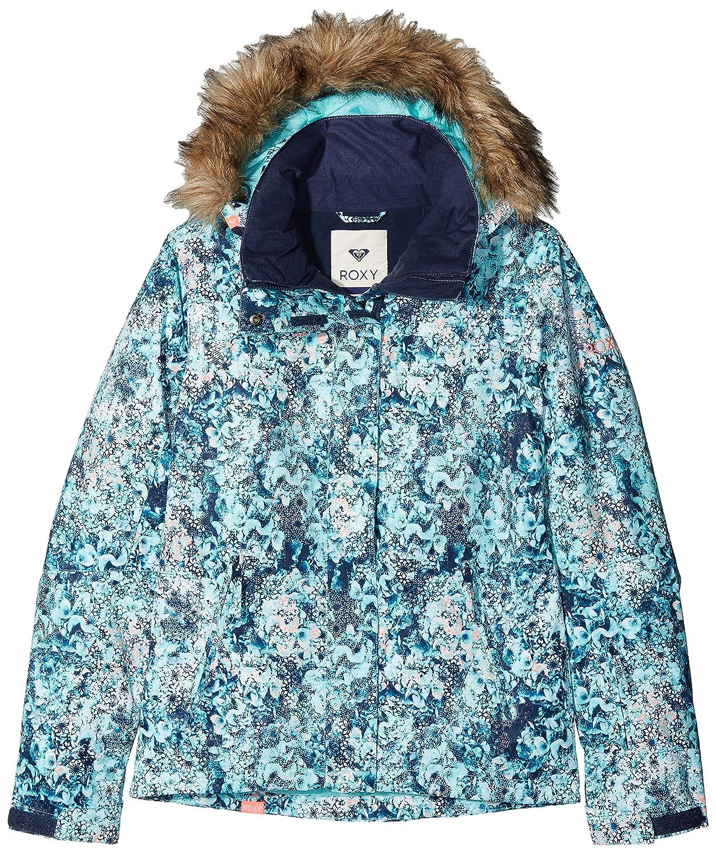 Roxy Snow Jackets Jet Ski Snow Jacket  Aruba bluee_Kaleidos Flowers