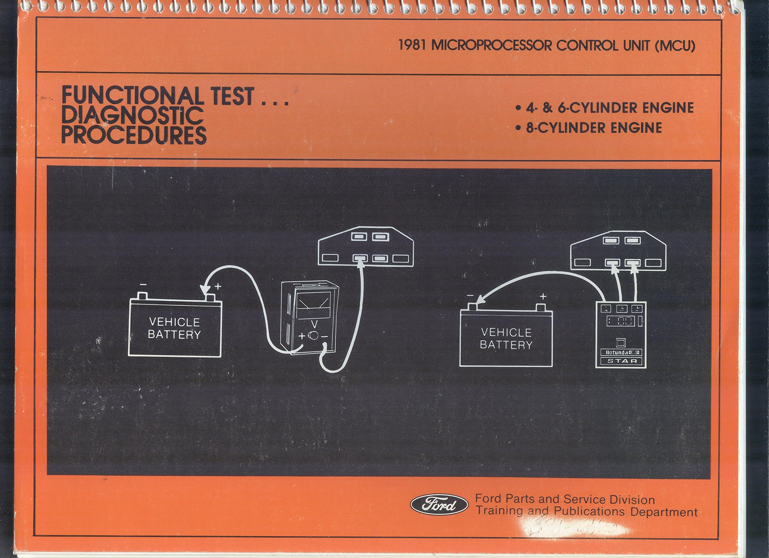Wondrous 1981 Microprocessor Control Unit Mcu Functional Test Diagnostic Wiring 101 Swasaxxcnl