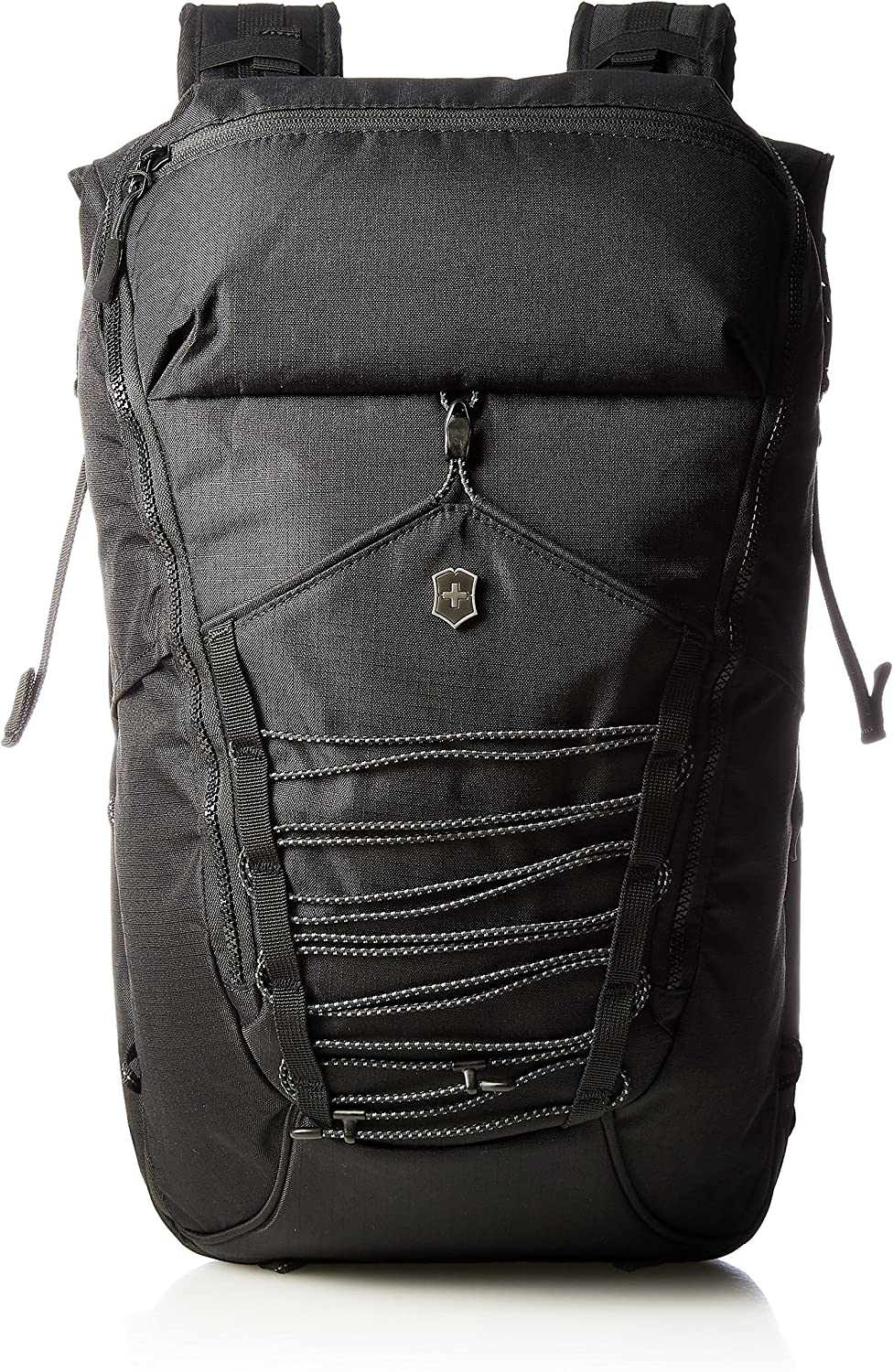 Victorinox Altmont Active Deluxe Rolltop Laptop Backpack, Black, 18.9-inch