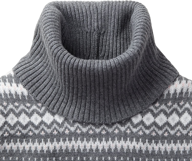 Hope /& Henry Girls Turtleneck Sweater Dress