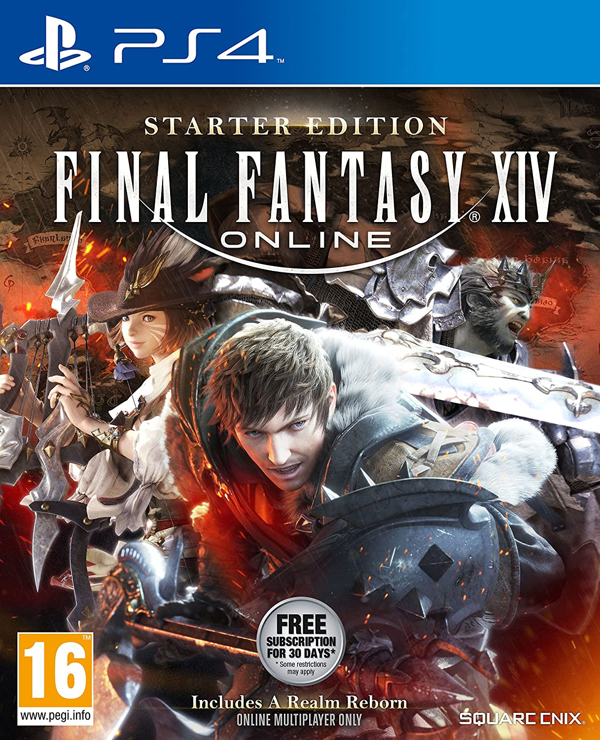 Final Fantasy XIV Online Starter Edition (PS4): Amazon co uk
