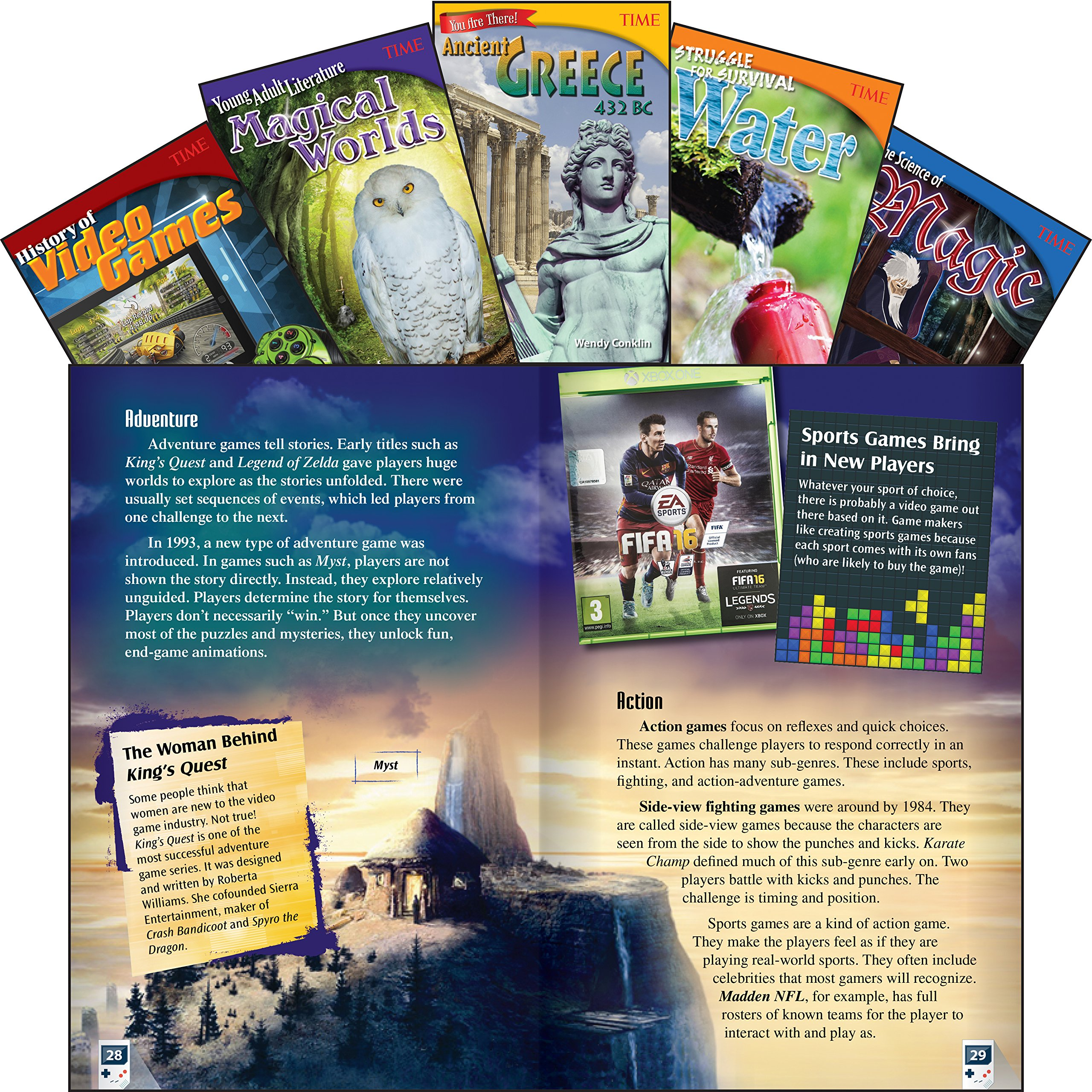 Download Time Informational Text, Grade 6 Set 1 (Time for Kids Nonfiction Readers) pdf epub