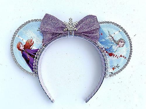 Frozen 1 Inspired Disney Ears Micky EarsMouse Ears