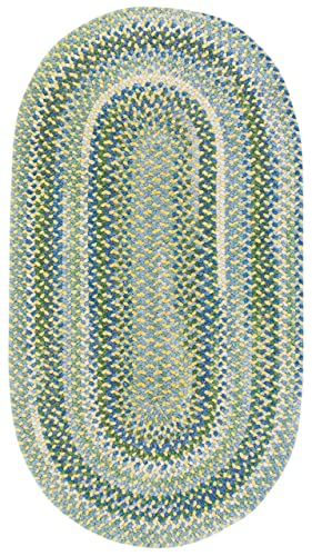 Capel Rugs Waterway Multi Rug Rug Size Concentric 5 x 8