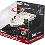 Star Wars Bluetooth Speaker - The Force Awakens Han Solo's Millennium Falcon Lights Up When in Use