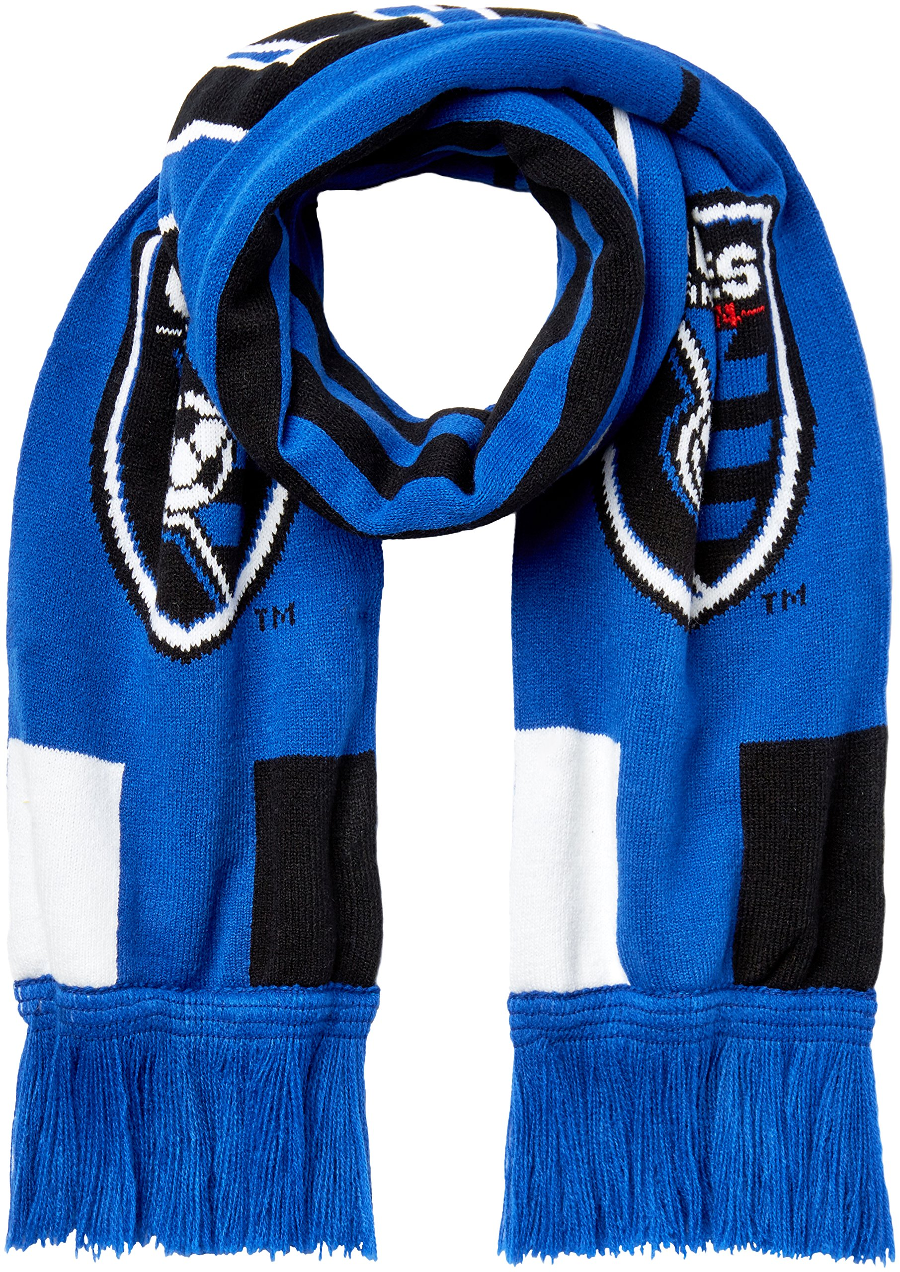 Outerstuff MLS San Jose Earthquakes R S8FDV Youth Boys Fringe Scarf, One Size (8), Master Blue