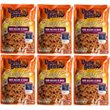 Uncle Ben's, Ready Rice, Red Beans & Rice, 8.5oz (Pack of 6)