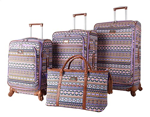 Nicole Miller Collection 4-Piece Luggage Set 28