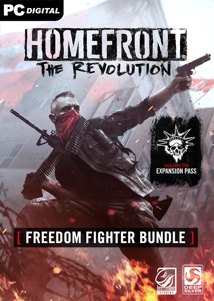 - The Homefront: The Revolution - Freedom Fighter Bundle [Online Game Code]