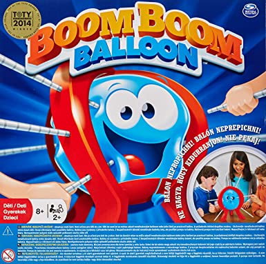 Amazon Com Spin Master Games Boom Boom Balloon Game Toys Games