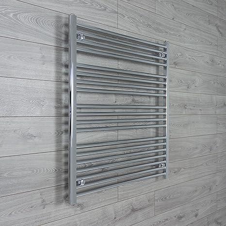 950mm ancho 1000mm Alto Cromo Calentador De Toallas Baño
