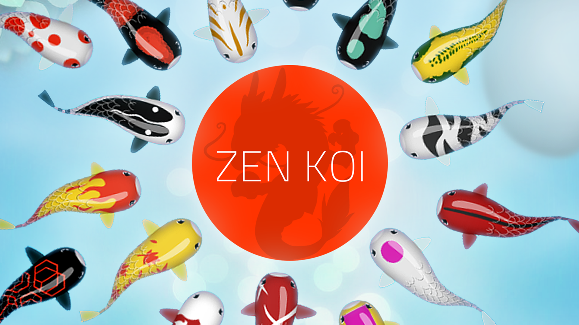 Zen koi appstore for android for Koi fish games