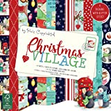 "Helz Cuppleditch Christmas -  Christmas Village - 12""x12"" Paper Pad"