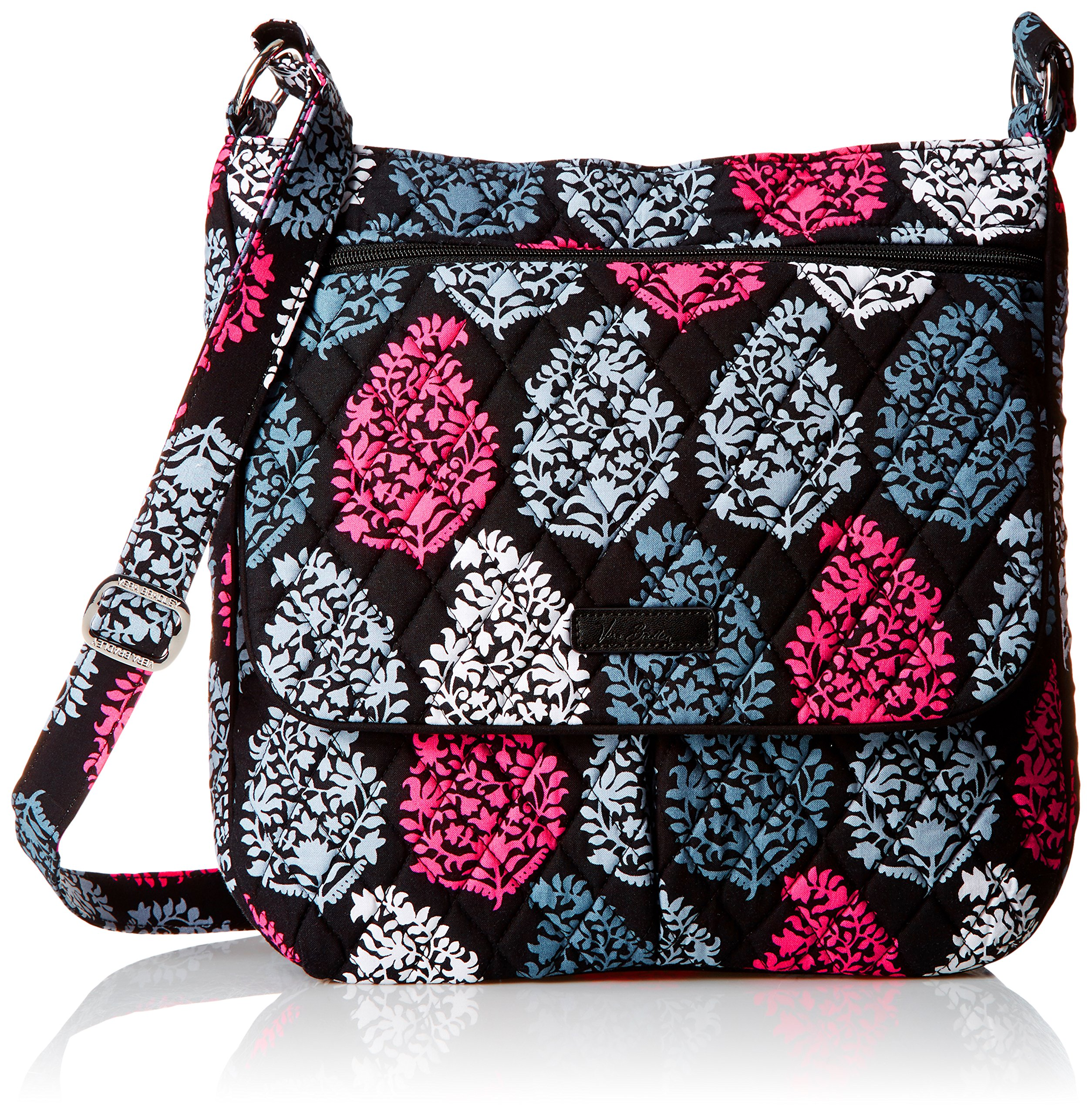 Vera Bradley Women's Double Zip Mailbag, Northern Lights