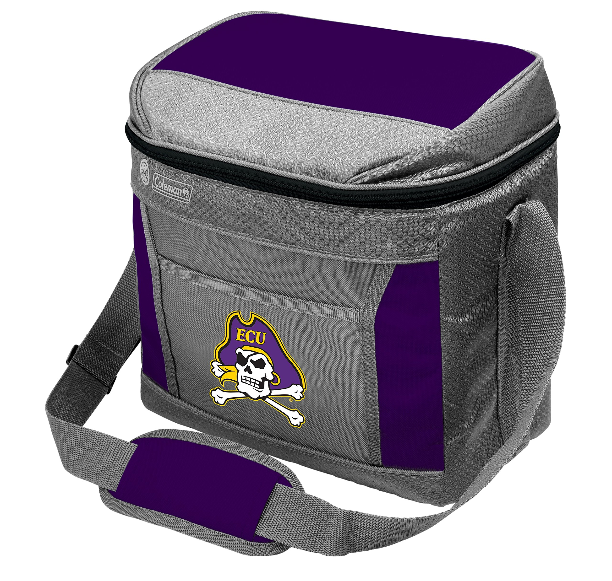 Coleman NCAA Soft-Sided Insulated Cooler Bag, 16-Can Capacity, East Carolina University