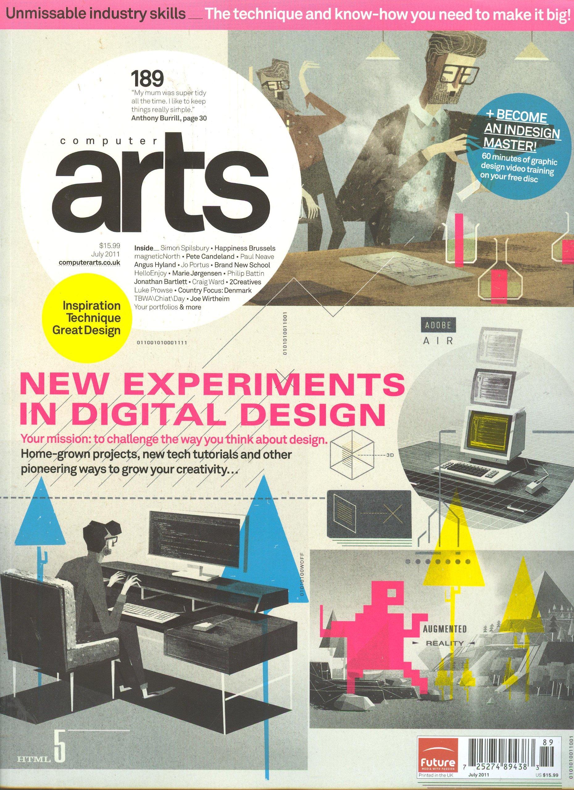 Download Computer Arts Magazine # 189 July 2011 ebook
