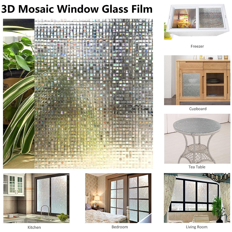 Film De Décoration 3D En Décoration Florale (11.8x78.7, Multicolor Small Mosaic) Europe Market