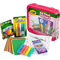 Crayola All That Glitters Art Case, 50 Pieces