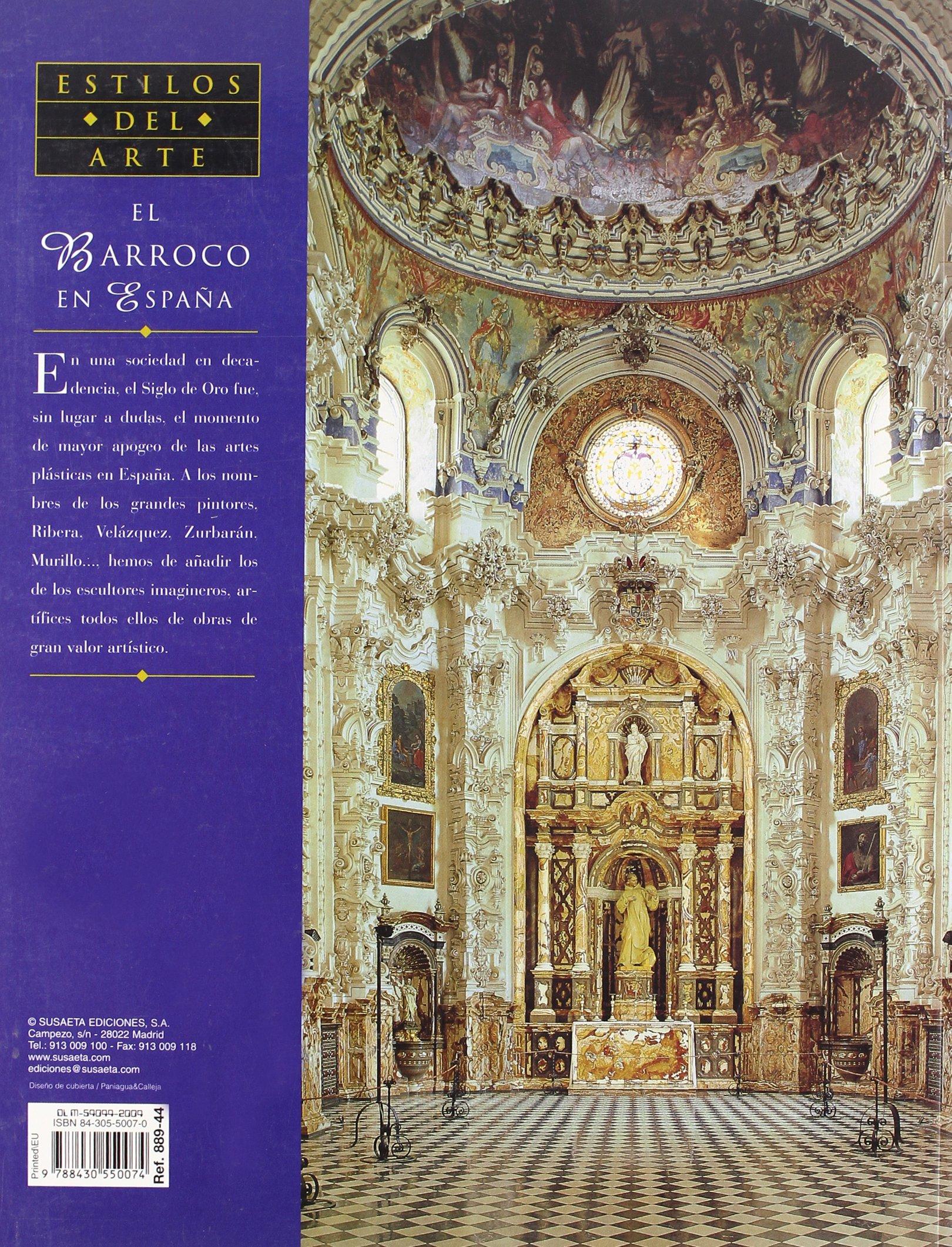 Barroco En España, El (Genios Del Arte): Amazon.es: Arnau Gubern, Elisa, Susaeta, Equipo: Libros