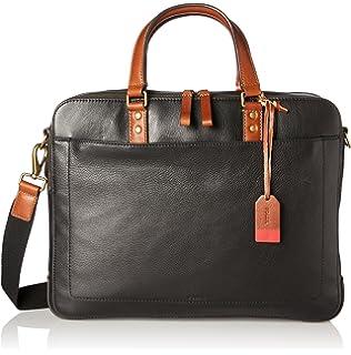 Fossil Herrentasche? Defender Briefcase, Sacs pour ordinateur portable homme, Marron (Cognac), 10.16x31.75x41.91 cm (B x H T)