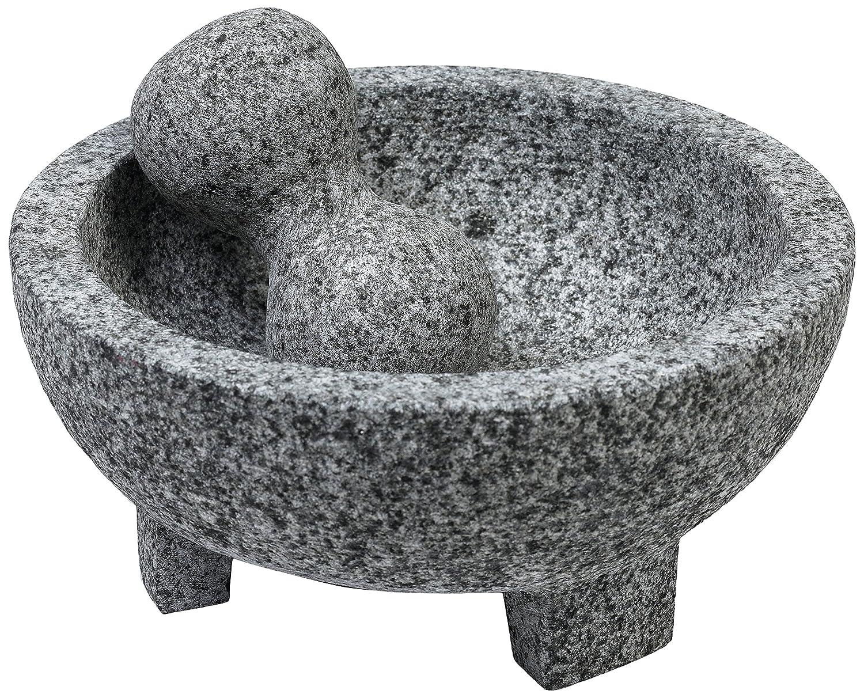 IMUSA USA MEXI-2013 Granite Molcajete Spice Grinder 6-Inch, Gray