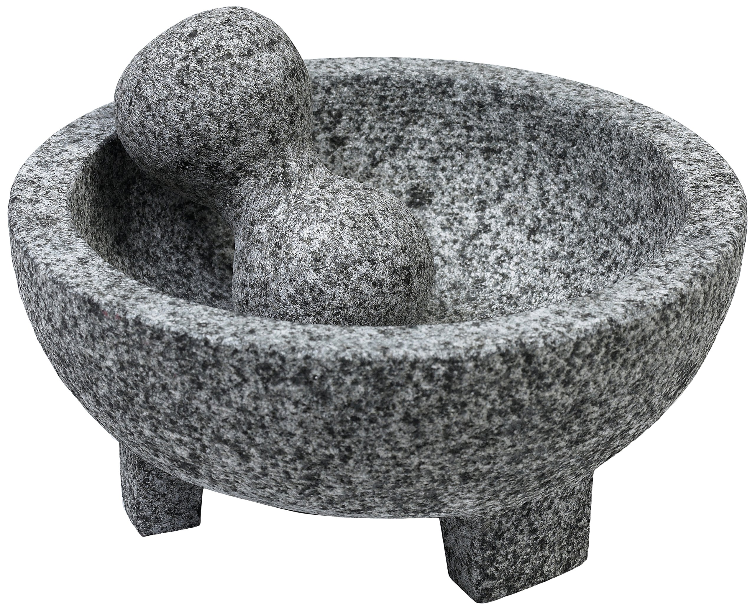 IMUSA USA MEXI-2013 Granite Molcajete Spice Grinder 6-Inch, Gray by Imusa