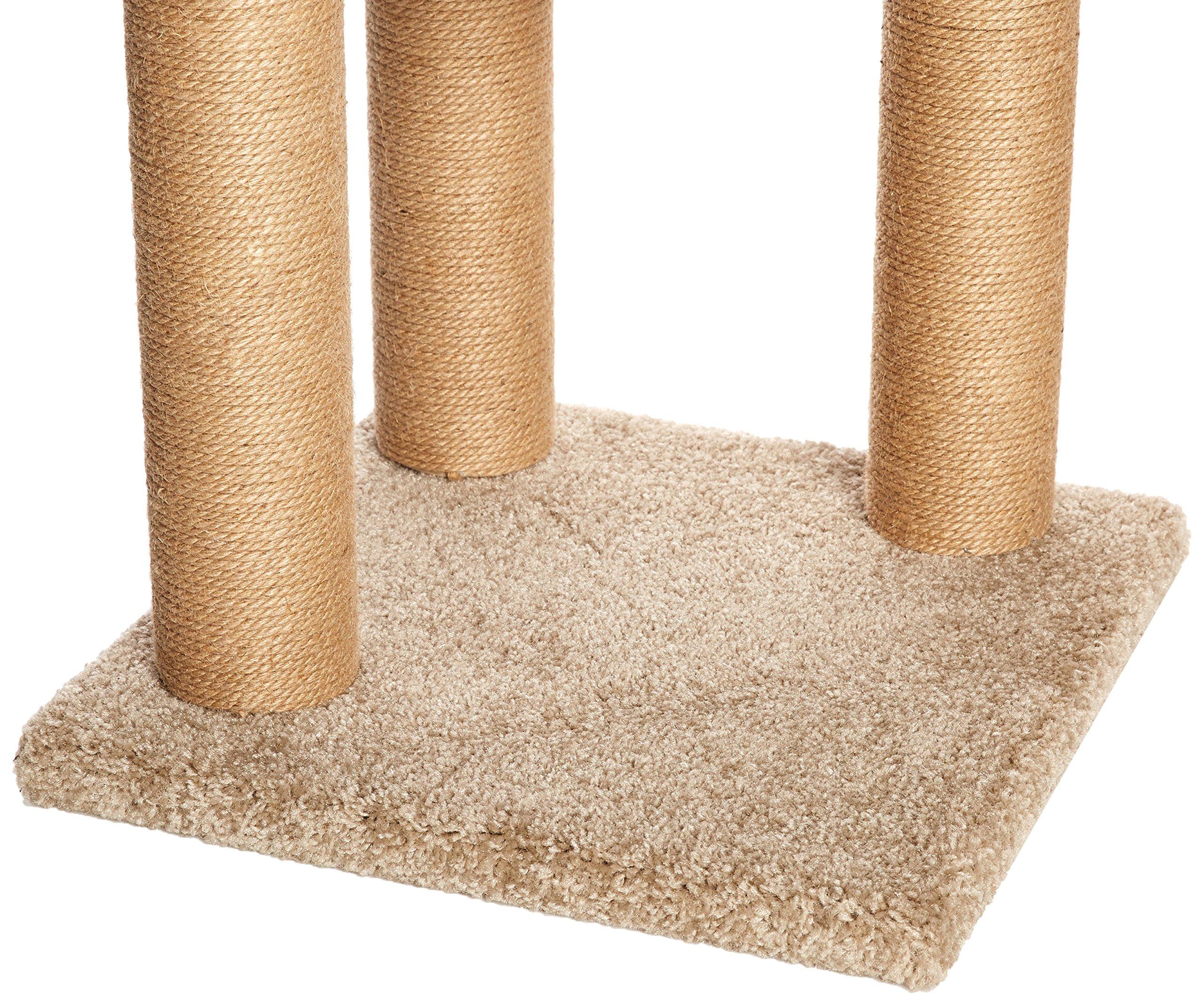 AmazonBasics Cat Activity Tree with Scratching Posts 4