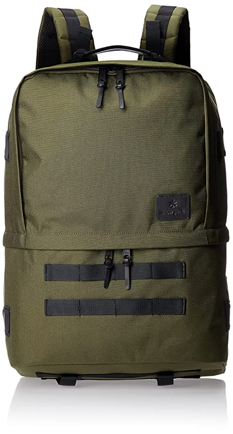 c3efc579f407 Amazon.com : Snow Peak Day Camp System Backpack, Olive, One Size ...
