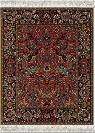 Lextra Mouserug Mouse Pad Floral Arabesque Computer Mouse Oriental Rug