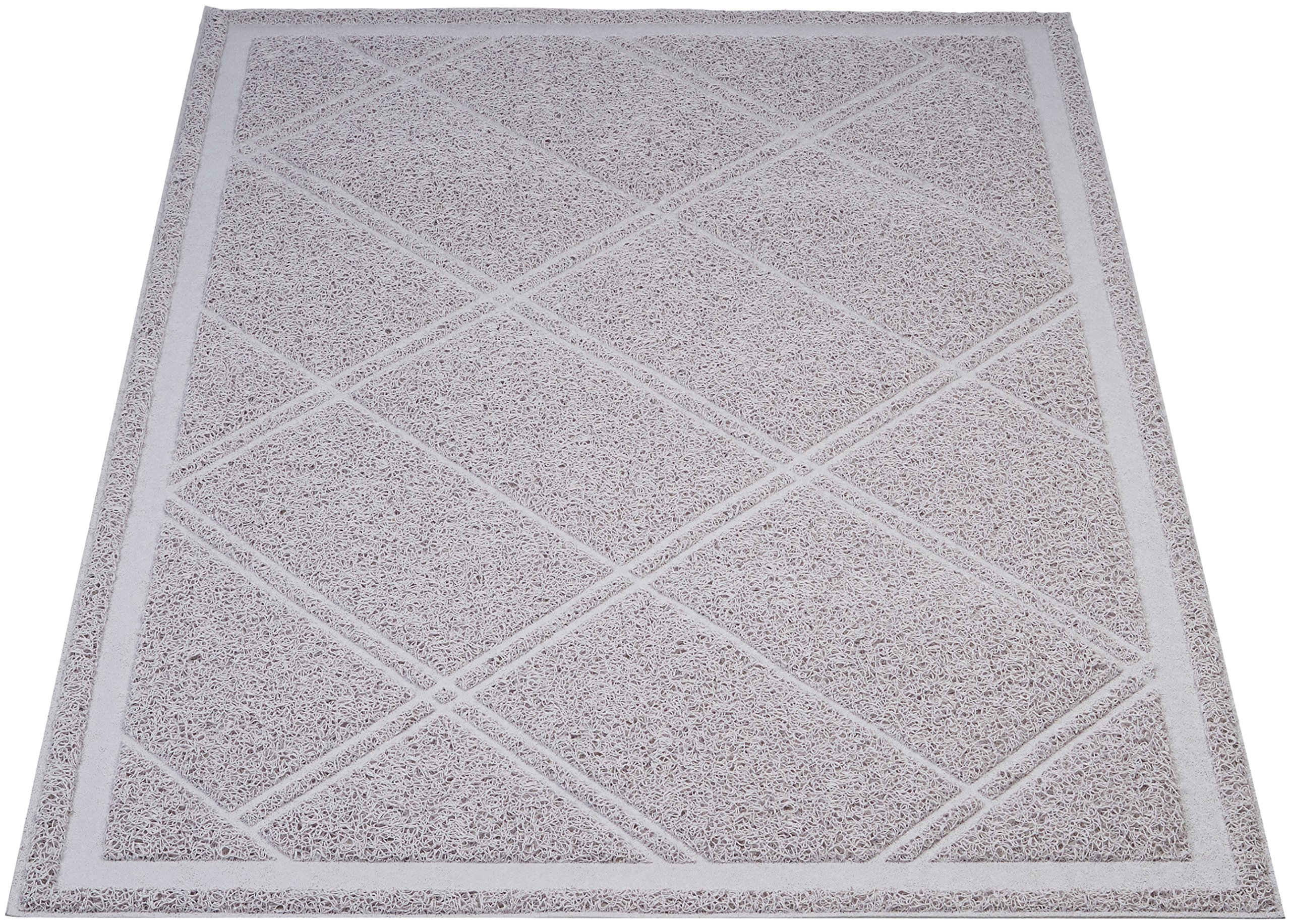Amazon Basics Less-Mess Cat Litter Box Mat