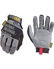 Mechanix Wear - Especialidad 0,5 mm guantes de alta destreza (Medio, Gris)