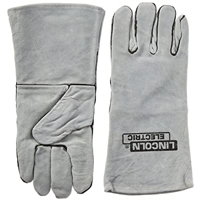 KH641 Gray, Commercial, Welding Gloves: Industrial & Scientific